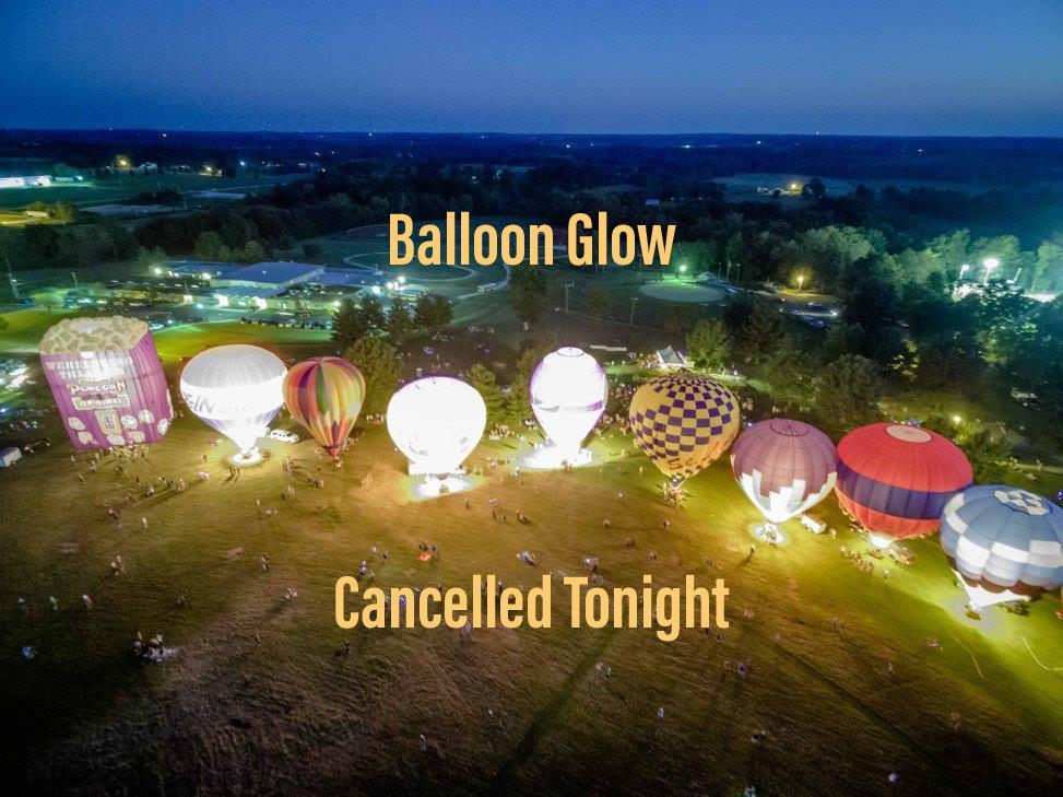 Balloon Glow cancelled